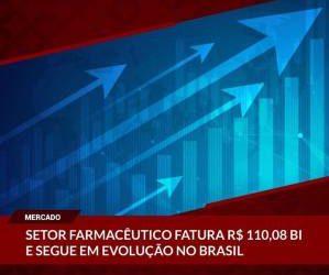 Setor farmacêutico fatura R$ 110,08 bi e segue em evolução no Brasil ima de geladeira mavicle