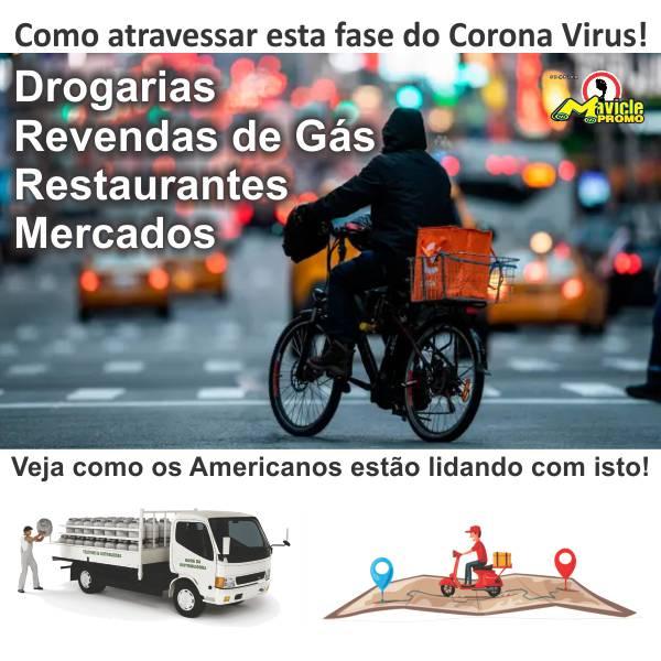 Como atravessar esta fase do Corona Virus na sua Drogaria, Revenda de Gás e Restaurante.