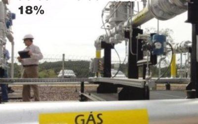 Consumo de gás de cozinha aumenta 18% no 1º trimestre deste ano